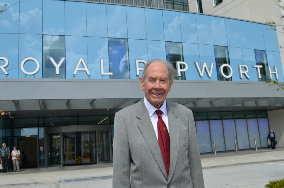Sir Terence English: Marking 40 years since the UK's first successful heart transplant