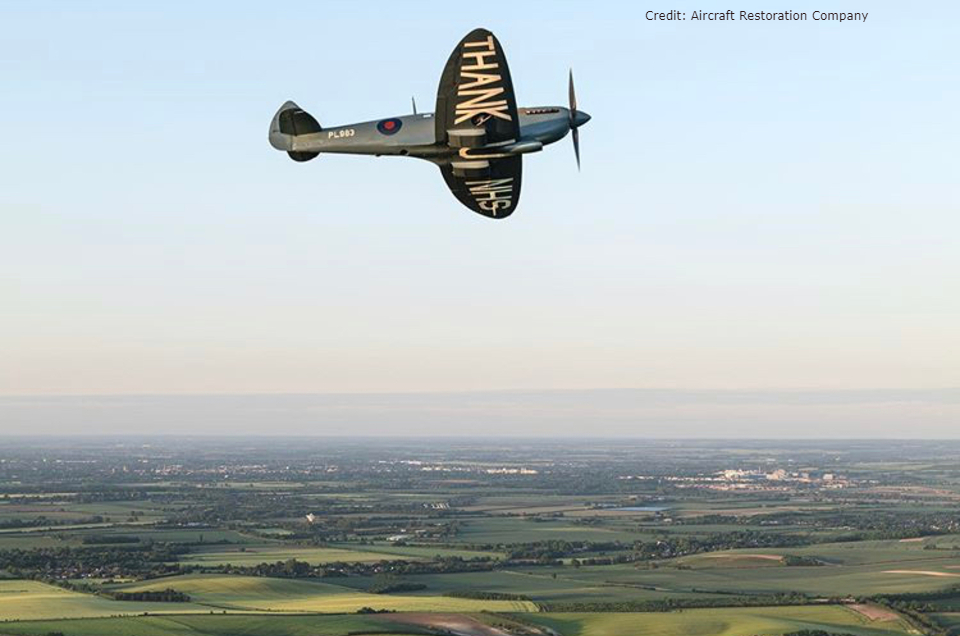 Special Spitfire plane to fly over Royal Papworth Hospital to mark the NHS' 72nd birthday