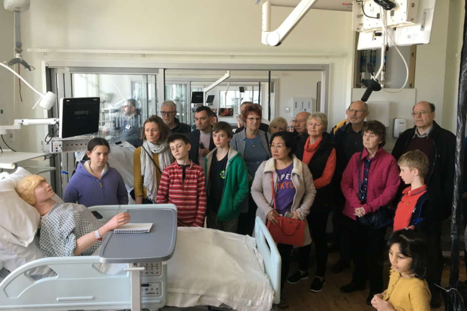 Patients react positively to first public tours of Royal Papworth's new hospital