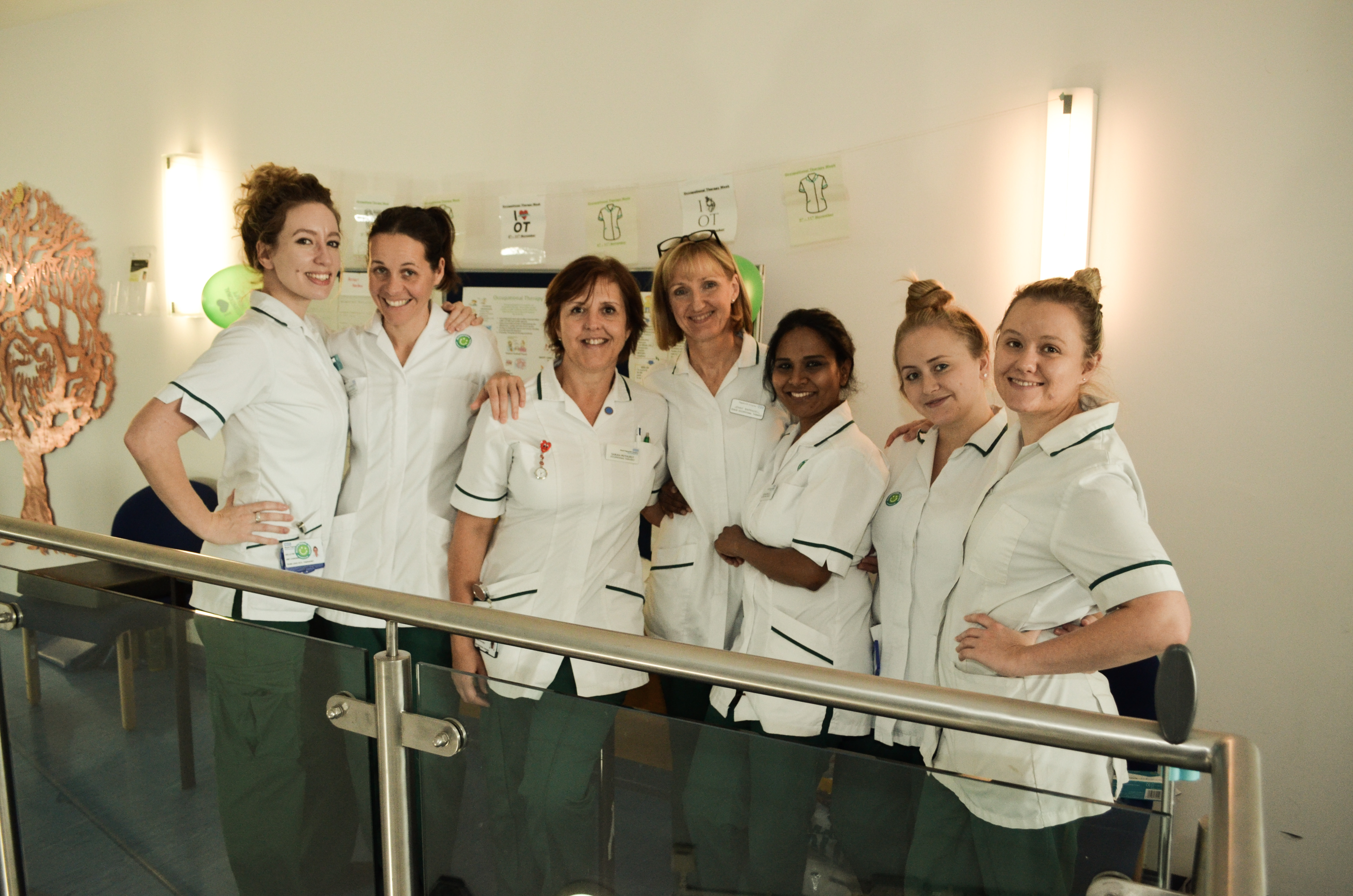 Occupational therapists raise awareness of their unique and vital role