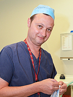Dr Andrew A Klein, Consultant Anaesthetist and Departmental Chairman