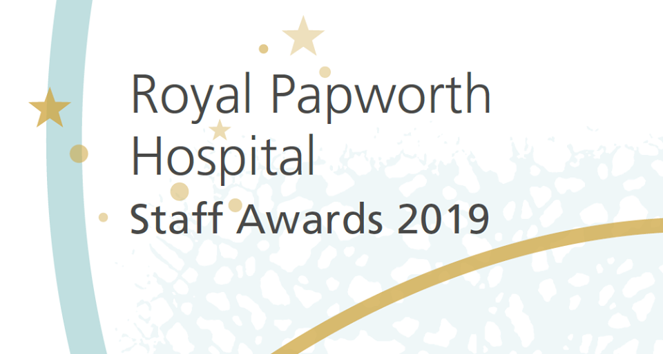 Staff awards 2019: Shortlist announced