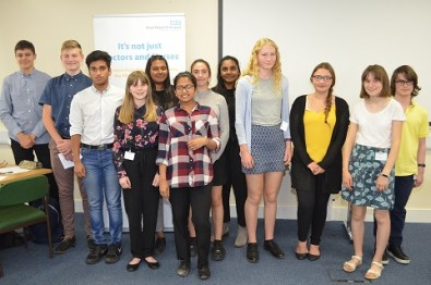 Local students take part in work experience programme