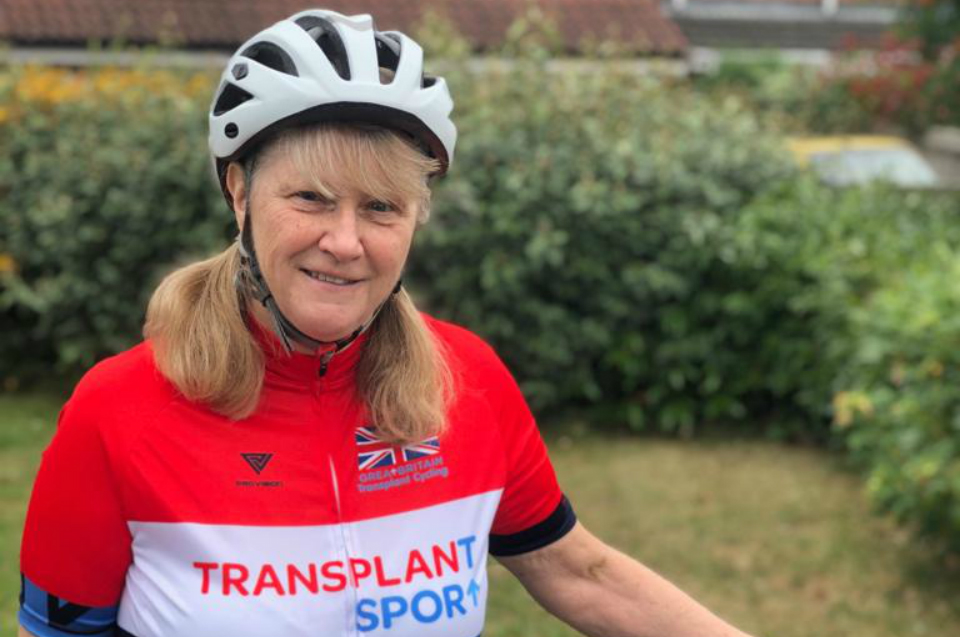 British Transplant Games athlete profile: Lesley Burch