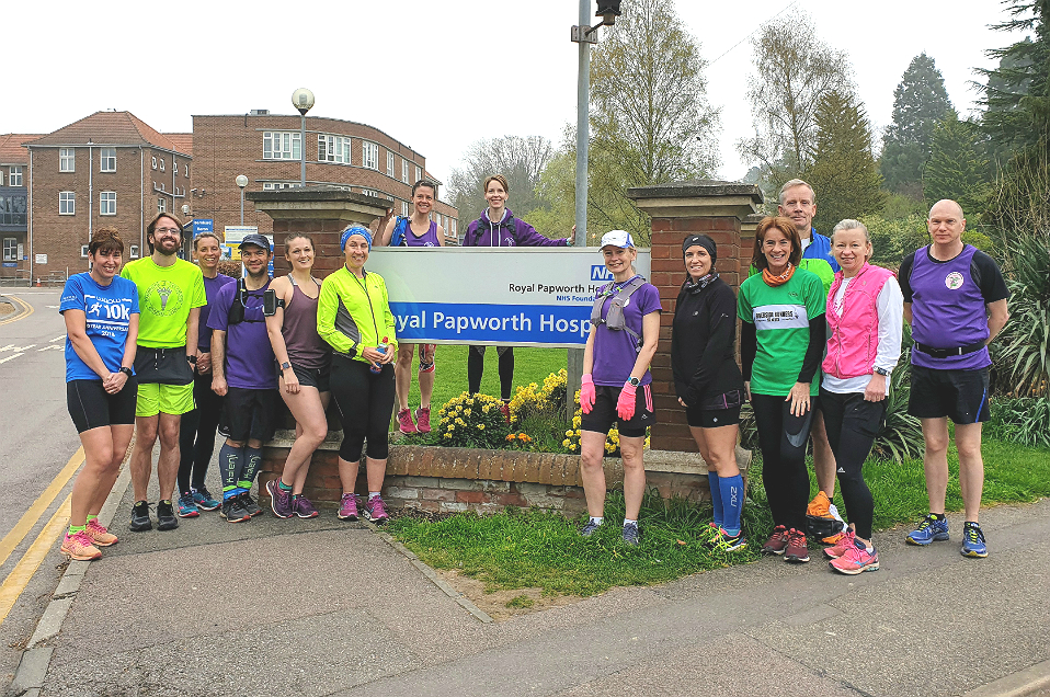 Commemorative run to mark Royal Papworth move