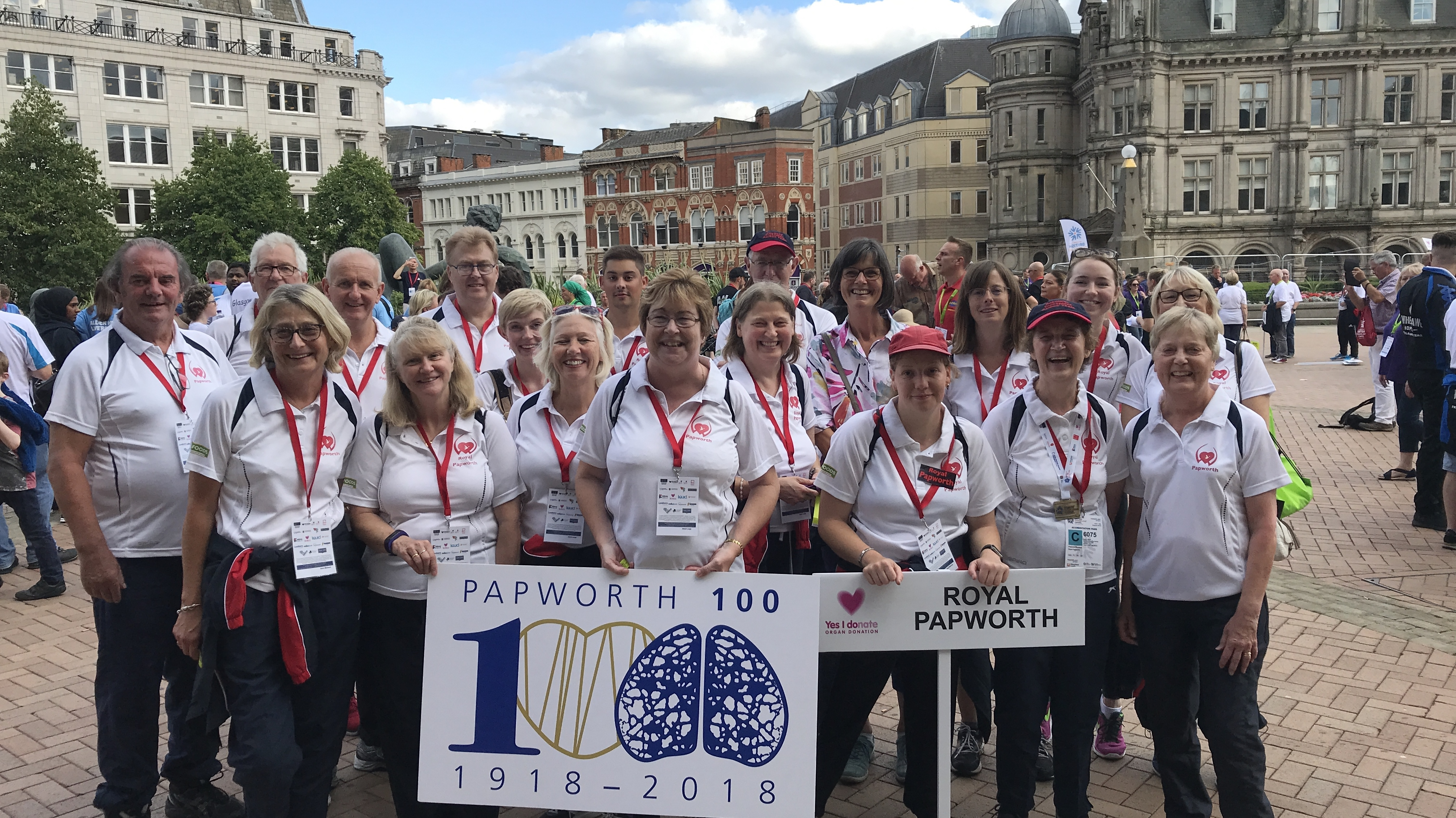 Patient athletes retain trophy for Best Heart & Lungs hospital at British Transplant Games