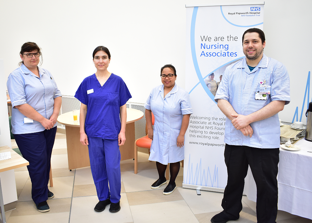 First-ever nursing associates complete training programme