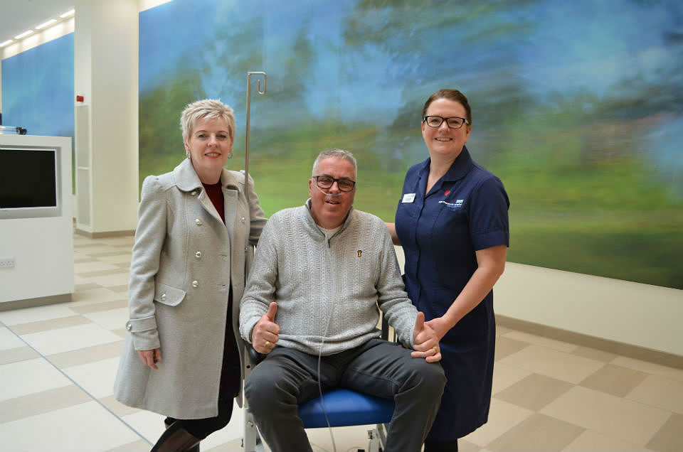 First patient given tour of new Royal Papworth Hospital