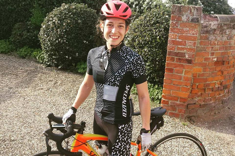 Becky's pedal to Parliament
