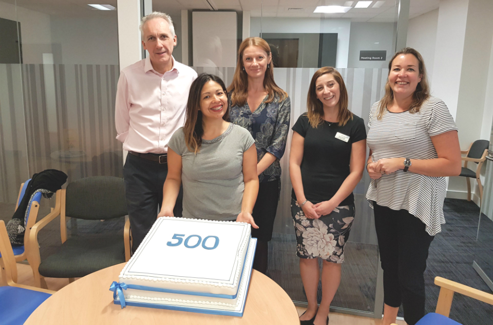 Royal Papworth recruits 500th LuCID study patient