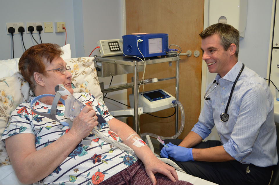 Respiratory failure experts at Royal Papworth Hospital to trial new blood testing method